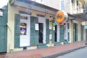 The Funky Pirate Blues Club at 727 Bourbon Street