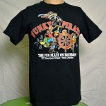 Funky Pirate  Black T-Shirt