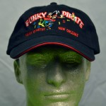 Funky Pirate Embroidered Hat